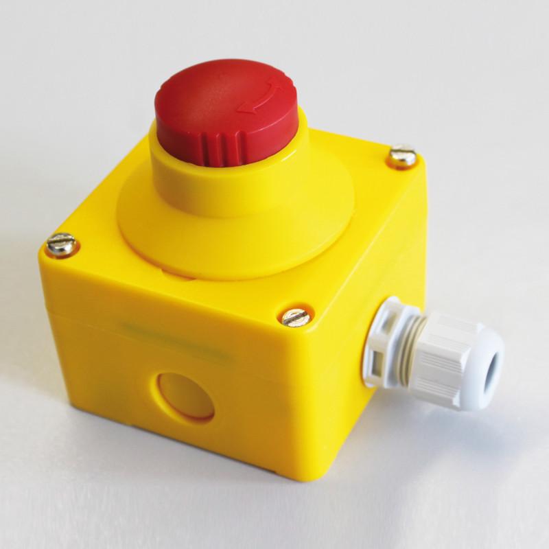 кнопки аварийного останова конвейера